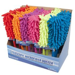 24 Units of Duster Microfiber Telescopic - Dusters