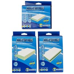 36 Units of Eraser Sponge Cleaning Pads - Scouring Pads & Sponges