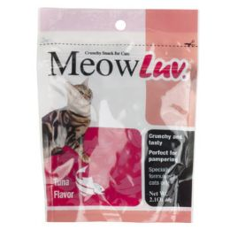 30 Units of Meow Luv Cat Treat 2.10 Oz Tuna Flavor - Pet Supplies
