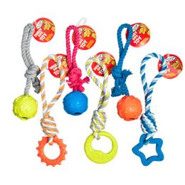 96 Units of Dog Toy Rope Chews Assortment - Pet Toys