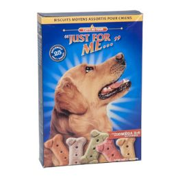 12 Units of Dog Treats Just For Me 12 Oz BI-Lingual Label - Pet Chew Sticks and Rawhide