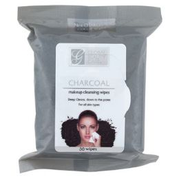 24 Units of Facial Wipes 30ct Charcoal Makeup Cleansing In 24pc Pdq - Assorted Cosmetics
