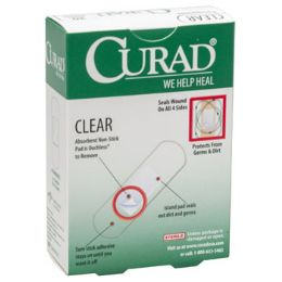 24 Units of Bandages Curad 30ct Clear - First Aid and Bandages