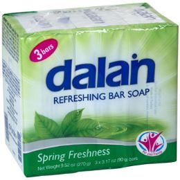 24 Units of Soap 3 Pack Bars Spring - Soap & Body Wash