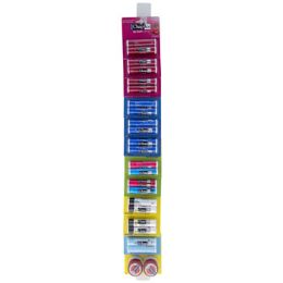 72 Units of Lip Balms 2pk Assorted Chap Ice 12pc Merch Strip See n2 - Personal Care