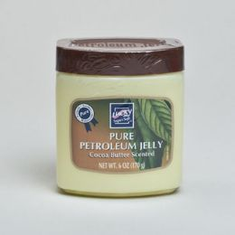 12 Units of Petroleum Jelly 6oz Jar Cocoa Butter Lucky - Personal Care