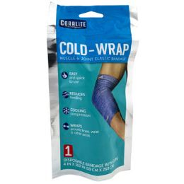 24 Units of COLD-WRAP ELASTIC BANDAGE WITH - First Aid and Bandages