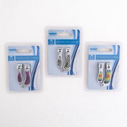 48 Units of Nail Clipper 2pc Set Fashion - Manicure and Pedicure Items