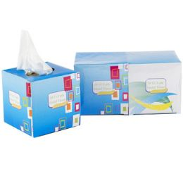 24 Units of Facial Tissue 20ct 2ply 2pk Box - Tissues