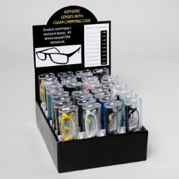 144 Units of READING GLASSES COLOR FRAME 36 - Reading Glasses
