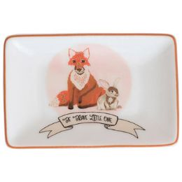 96 Units of Trinket Tray 2x3 Ceramic - Home Decor