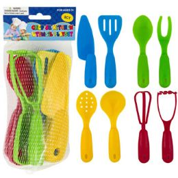 24 Units of Chef Jr 8pc Kitchen Utensil - Kitchen Utensils