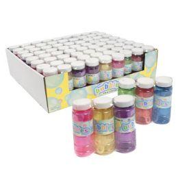 24 Units of Bubbles 3pk 4oz Translucent Ast - Bubbles