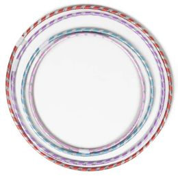 60 Units of Fun Hoops Laser Striped 4ast Szs - Store