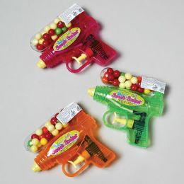 72 Units of Gumball Filled Water Gun 3 Asst - Water Guns
