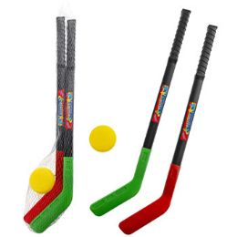 24 Units of Hockey Playset 28in Plastic Toy - Sports Toys
