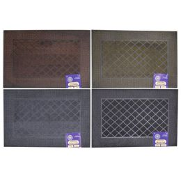 12 Units of Mat Outdoor Rubber Pin Assorted - Mats