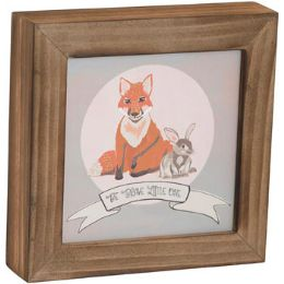 24 Units of Wall Plaque 7x7x1 Wood - Wall Decor