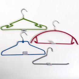 72 Units of Hangers 4ast Style W/pvc Coating - Hangers
