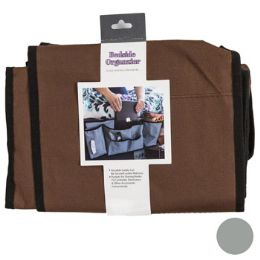 18 Units of Bedside Organzier Fabric 2ast Colors 23.22 X 2.56 X 10in - Storage Holders and Organizers