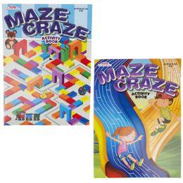 24 Units of Activity Book Maze Craze 2asst - Crosswords, Dictionaries, Puzzle books