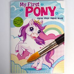 48 Units of Paint With Water My First Pony - Art Paints