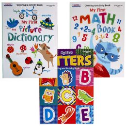 24 Units of Coloring BooK-My FirsT-Letters/ - Coloring & Activity Books