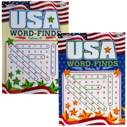 24 Units of Word Find Usa In Pdq - Crosswords, Dictionaries, Puzzle books