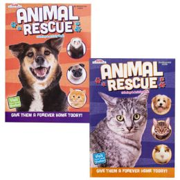 24 Units of COLOR/ACTIVITY BOOK ANIMAL - Crosswords, Dictionaries, Puzzle books