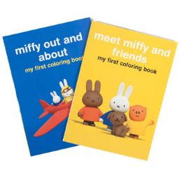 24 Units of Miffy Giant Coloring - 2 Asst - Coloring & Activity Books