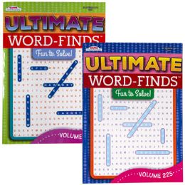 120 Units of WORD FIND ULTIMATE PUZZLE BOOK - Crosswords, Dictionaries, Puzzle books
