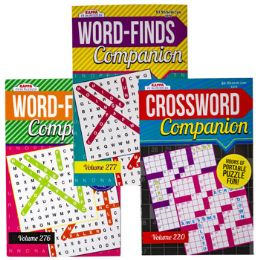 36 Units of Puzzle Book Companion Wordfind/ - Crosswords, Dictionaries, Puzzle books