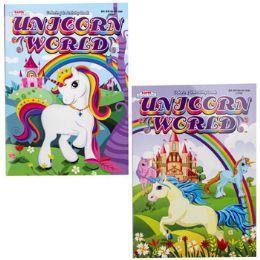 24 Units of COLOR & ACTIVITY UNICORN MAGIC - Crosswords, Dictionaries, Puzzle books