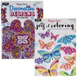 48 Units of COLORING BOOK ADULT 2/4 ASST. - Coloring & Activity Books