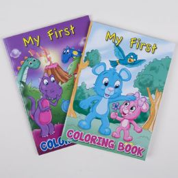 24 Units of Coloring Book My First 2asst - Coloring & Activity Books