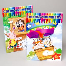 24 Units of Coloring Book By The Numbers - Coloring & Activity Books
