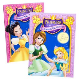 24 Units of Coloring Book Princess In Pdq - Coloring & Activity Books