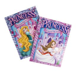 24 Units of Coloring Book Princess 2 Asst - Coloring & Activity Books