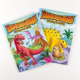 24 Units of Coloring Book Dinosaurs - Coloring & Activity Books