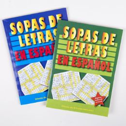 24 Units of WORD FINDS SPANISH 2 ASST - Crosswords, Dictionaries, Puzzle books