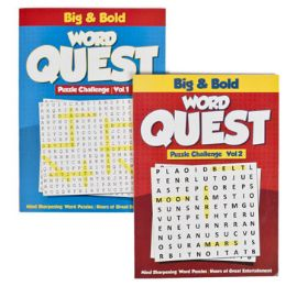 24 Units of Puzzle Book Find A Word 2 Asst - Crosswords, Dictionaries, Puzzle books
