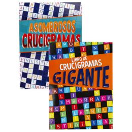 24 Units of PUZZLE BOOK LG PRINT CROSSWORD - Crosswords, Dictionaries, Puzzle books