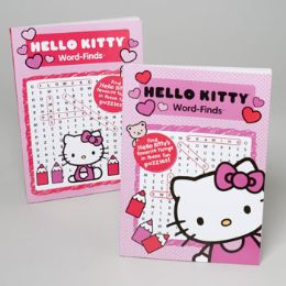 24 Units of WORD FIND HELLO KITTY 2 ASST - Crosswords, Dictionaries, Puzzle books