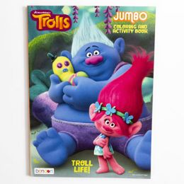 24 Units of COLORING BOOK TROLLS - Coloring & Activity Books