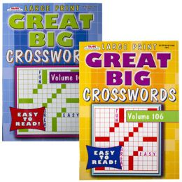 120 Units of CROSSWORDS GREAT BIG 2 ASST - Crosswords, Dictionaries, Puzzle books