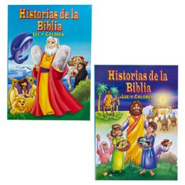 24 Units of Coloring Book Bible Read/color - Coloring & Activity Books