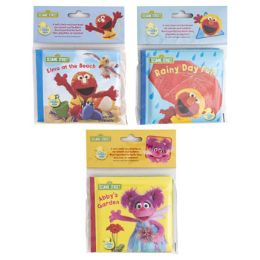 36 Units of Bath Books Sesame Street - Bath And Body