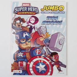 24 Units of Coloring Book Avengers Jumbo - Coloring & Activity Books
