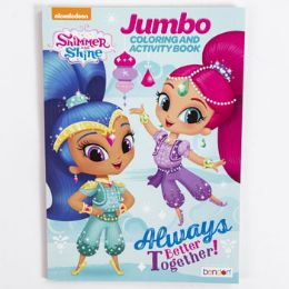 24 Units of Coloring Book Shimmer & Shine - Coloring & Activity Books