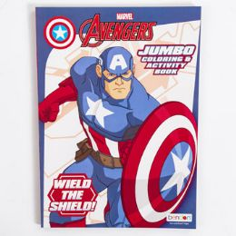 24 Units of Coloring Book Captain America - Coloring & Activity Books